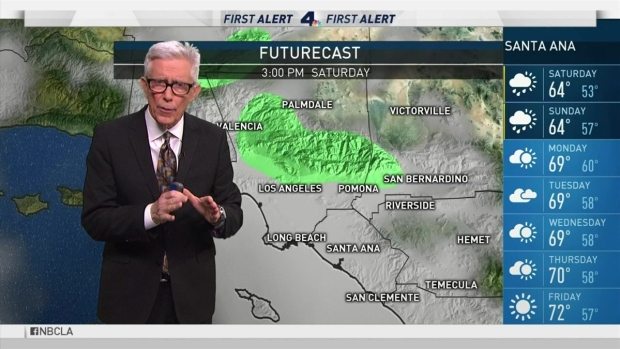 [LA] PM Forecast: Cool, Wet Weather Ahead