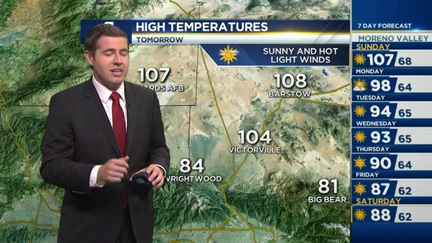 [LA] PM Forecast: Extreme Heat