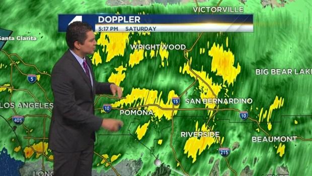 [LA] PM Forecast: Storms Continue