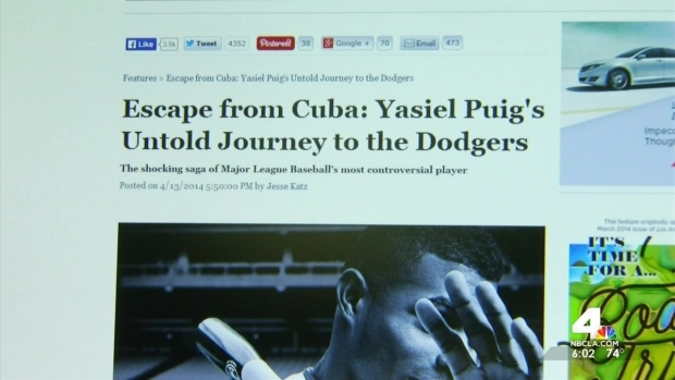 [LA] Yasiel Puig's Controversial Journey to America