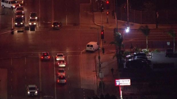 [LA] RAW VIDEO: Pursuit Ends With Arrests