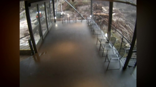 [LA] Watch: Flash Flood at the Palm Springs Aerial Tramway