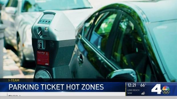 Part 2: Parking Ticket Hot Zones