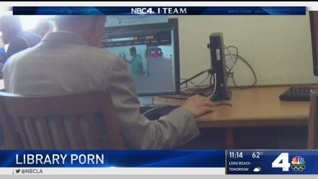 [LA] Patrons Watch Porn at Public Libraries
