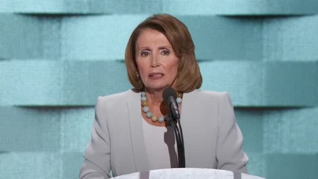 [NATL] Nancy Pelosi: 'If You're on the No-Fly List, You Belong on the No-Buy List'