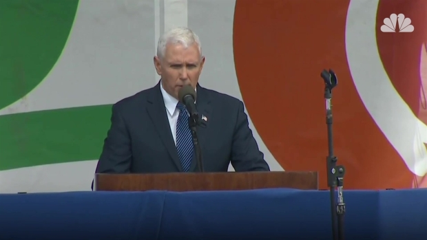 Pence: 'Life Is Winning Again in America'