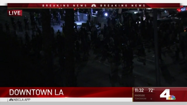 [LA] Anti-Trump Demonstrators Shut Down Freeway