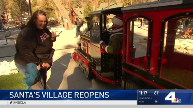 [LA] Santa's Village Re-Opens After Nearly 20 Years