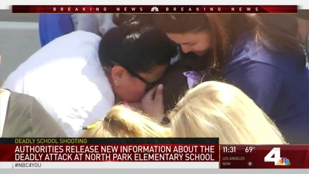 [LA] Police Give Updates on Deadly Elementary School Shooting