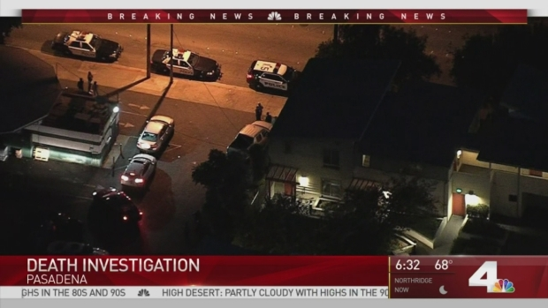[LA] Police Investigate Death of Man in Pasadena