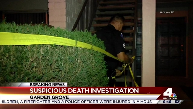 Boyfriend arrested after woman found dead in garden grove under suspicious circumstances nbc Garden grove breaking news now