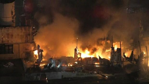 [LA] Fire at U-Haul Facility in Pomona