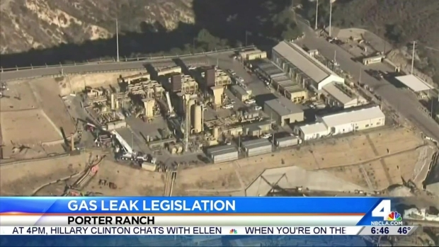 [LA] Lawmakers Plan Announcement on Porter Ranch Gas Leak