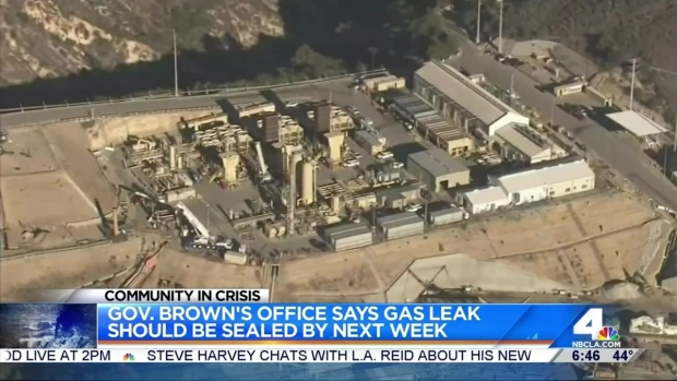 [LA] Officials Says Porter Ranch Gas Leak Could Be Capped Next Week