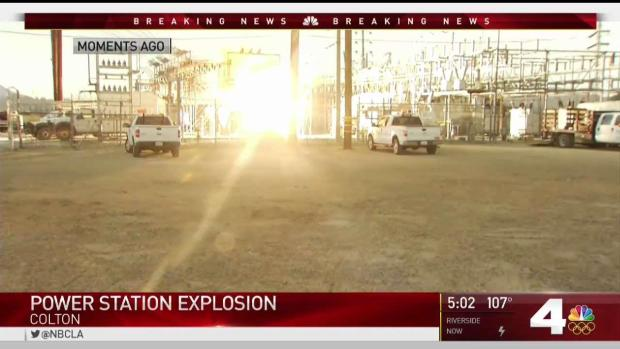 [LA] Power Station Explosion as Outages Sock Colton