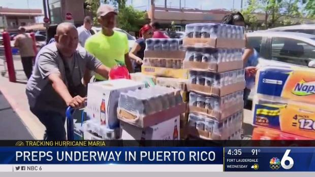 Puerto Rico & Virgin Islands brace for another major hurricane, Maria