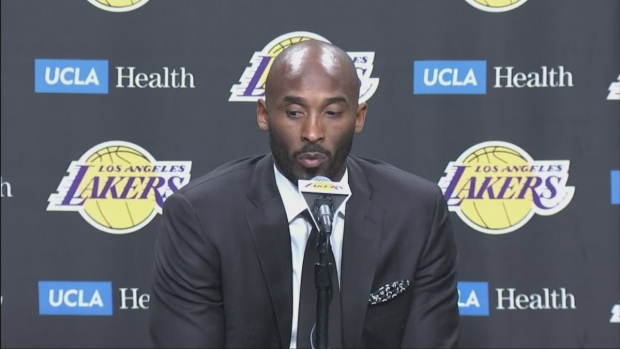 [LA] Press Conference: Lakers to Retire Kobe Bryant's Jerseys