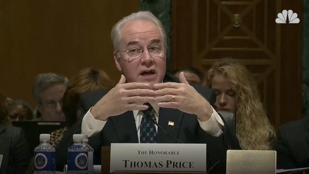 [NATL] Dems Challenge HHS Nominee on Plans for Federal Health Programs