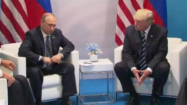 [NATL] Trump, Putin Discuss 'Very Good' First Sit-Down Meeting at G-20 Summit