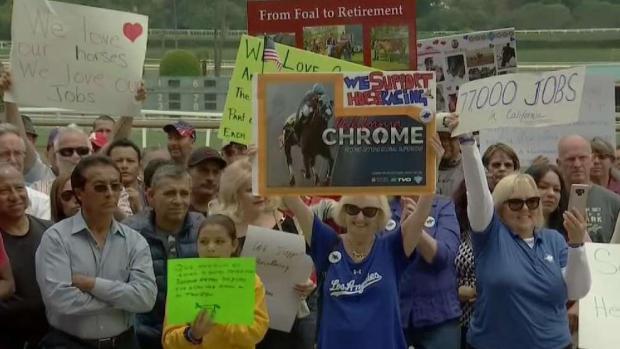 [LA] Santa Anita Racetrack Workers Fear Losing Jobs