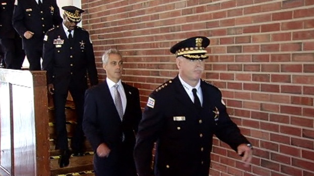 Mayor Goes on CPD Ride-Along With McCarthy