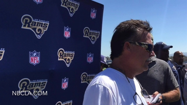 [LA] Rams Coaches Talk After Saturday Practice