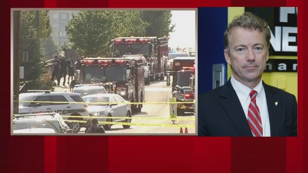 [NATL] Rand Paul Discusses Role of Security During Morning Shooting
