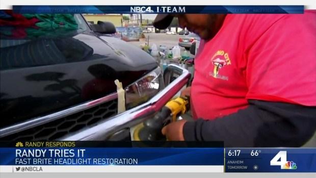 [LA] Randy Tries It: Car Headlight Cleaner