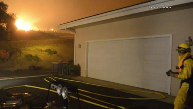 [LA] WATCH: Santa Barbara County Fire Grows Overnight
