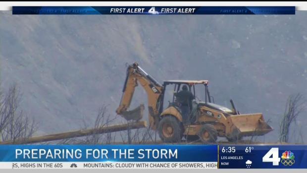 [LA] Residents Near Thomas Fire Zone Brace for Possible Flooding