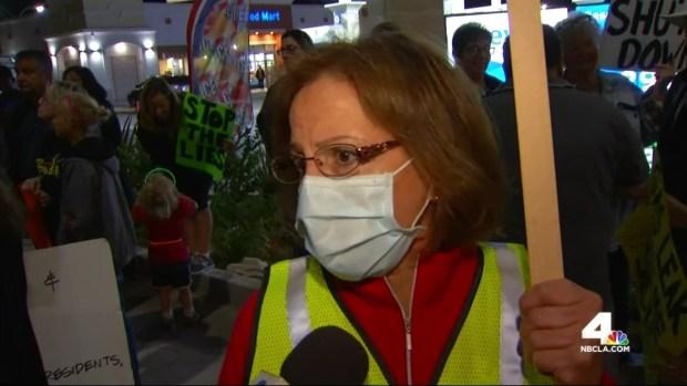 [LA] Residents Rally Over Gas Leak in Porter Ranch
