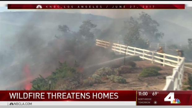 [LA] Retired Firefighter Among Evacuees in Mart Fire