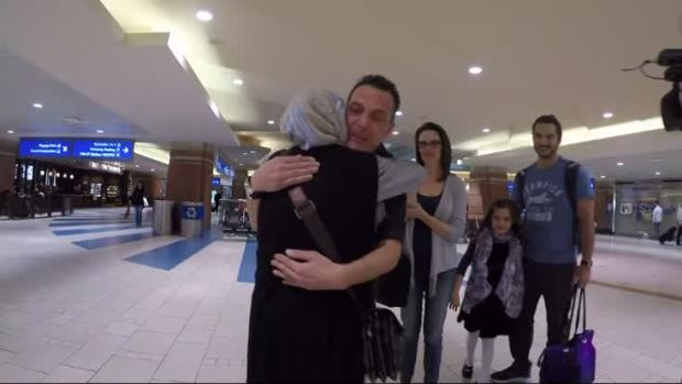 [NATL] Family Reunited After Travel Ban Delay