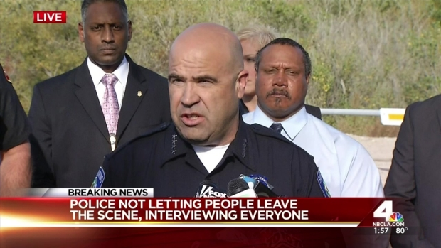 San Bernardino Police Chief Confirms Mass Shooting to Public