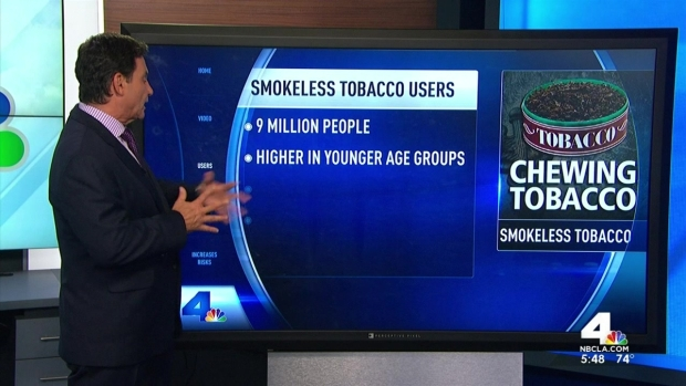 [LA] Dangers of Chewing Tobacco