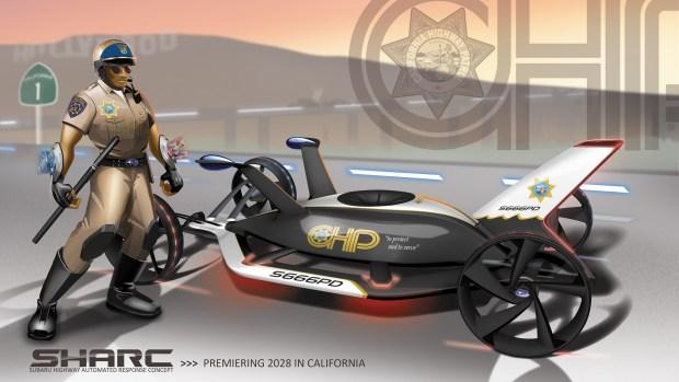 Design Challenge: Highway Patrol Vehicles of 2025