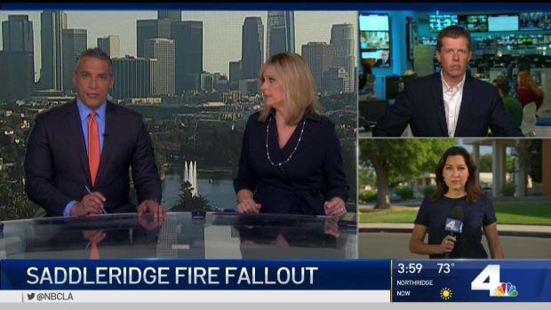 [LA] Saddleridge Fire Investigation Rules Out Some Causes