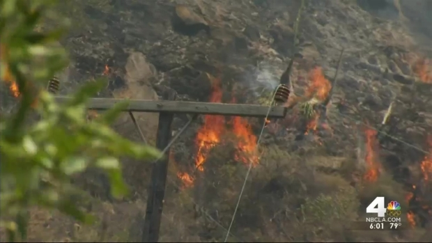 [LA] Santa Barbara County Wildfire Burns 2 Square Miles