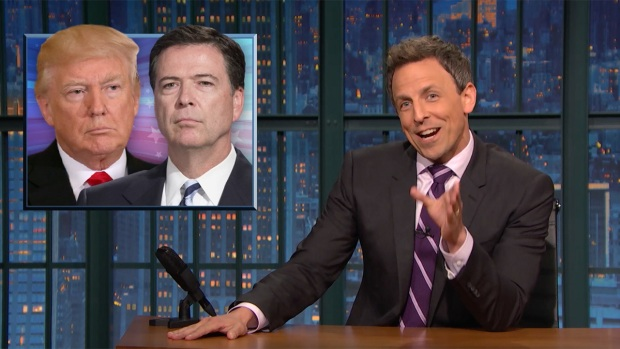 [NATL] 'Late Night': Closer Look at the GOP's Reaction to Comey's Memo