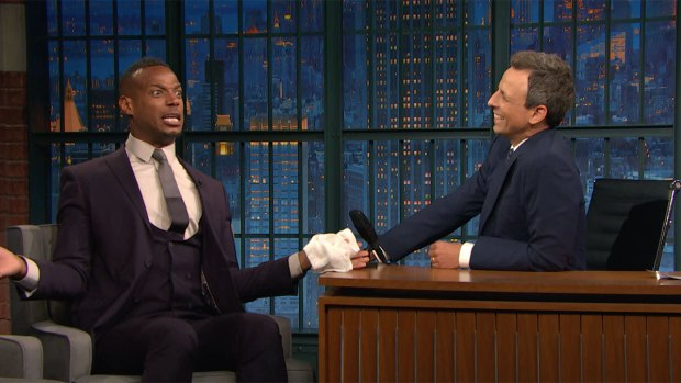 [NATL]'Late Night': Marlon Wayans Likes to Embarrass His Kids