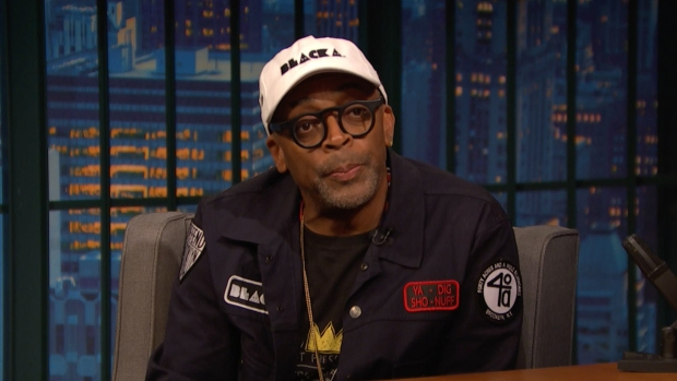 [NATL] 'Late Night': Lee Talks Charlottesville, 'BlacKkKlansman'