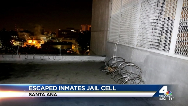 [LA] Search Continues for Three Dangerous Inmates After Jail Escape