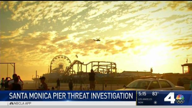 [LA] Search Continues for Santa Monica Pier Bomb Threat Suspect