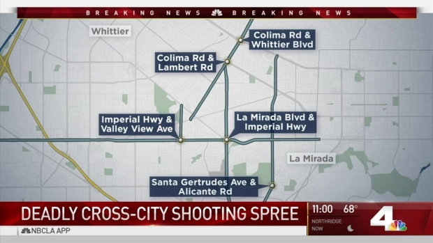 [LA] Search for 2 Suspects Following Deadly Shooting Spree