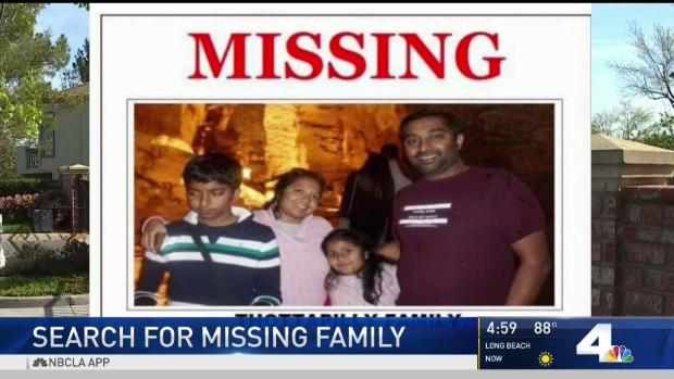 [LA] Search for Family Who Went Missing on Road Trip