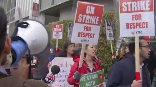 [LA] Second Day of Teacher Strike Moves Forward