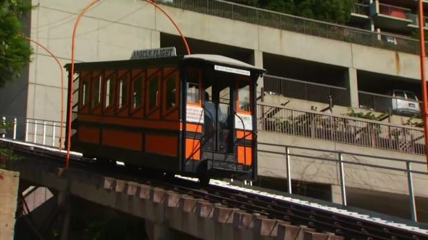 [LA] Watch: Angels Flight Reopens
