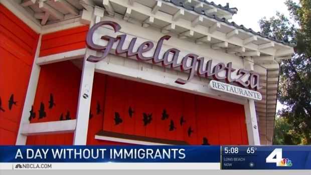 [LA] Spontaneous 'Day Without Immigrants' Protests in SoCal