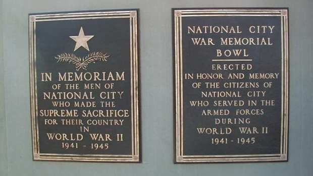 [G] War Memorial Plaques Stolen from Park