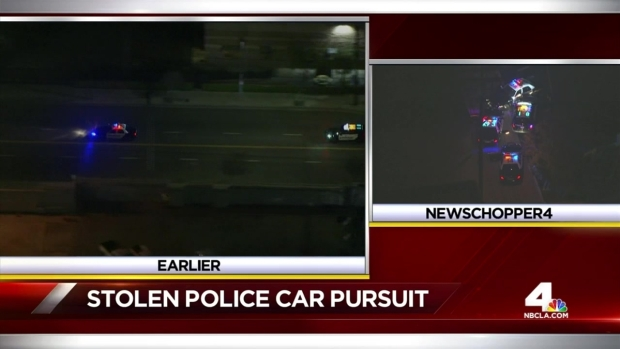[LA] Stolen Cruiser Pursuit Ends in Crash and Police Shooting